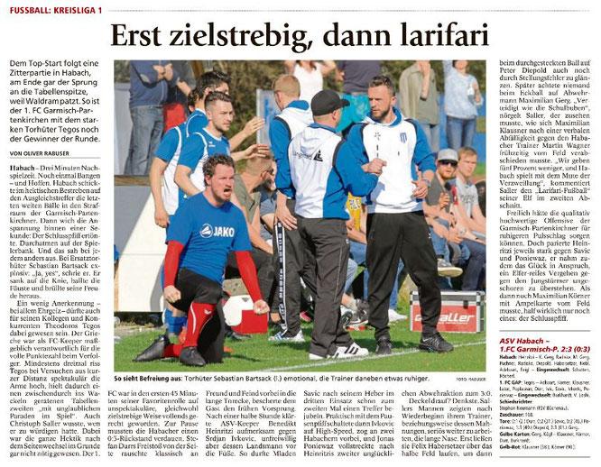 Ga-Pa Tagblatt vom 10.04.2017