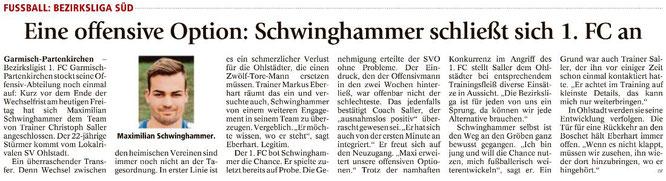 Garmischer Tagblatt vom 30.06.2017