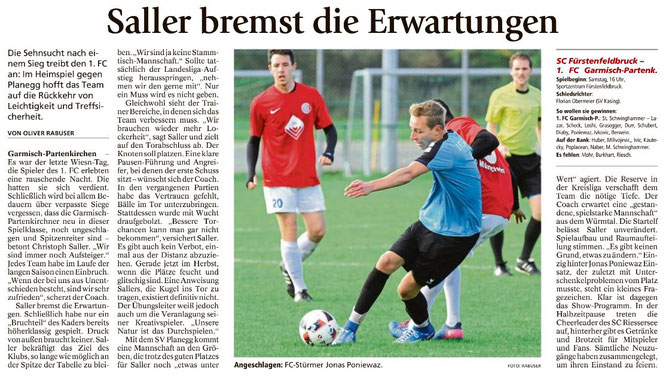 Garmischer Tagblatt vom 07.10.2017