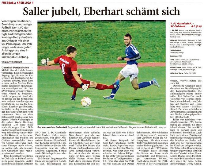 Ga-Pa Tagblatt vom 17.09.2016
