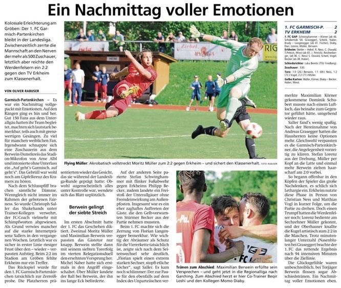 Garmischer Tagblatt vom 12.11.2018