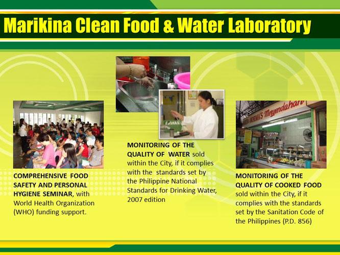 マリキナ市食と水の衛生研究所
