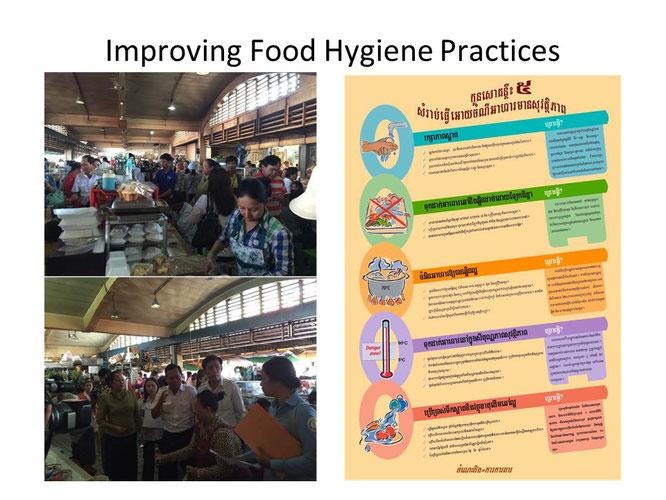 食の公衆衛生改善活動