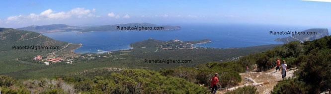 Vista panoramica da Torre della Pegna