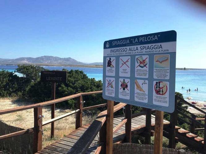 Nuove regole Spiaggia la Pelosa Stintino