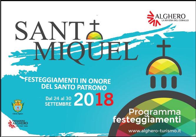 Sant Miquel 2018 Alghero
