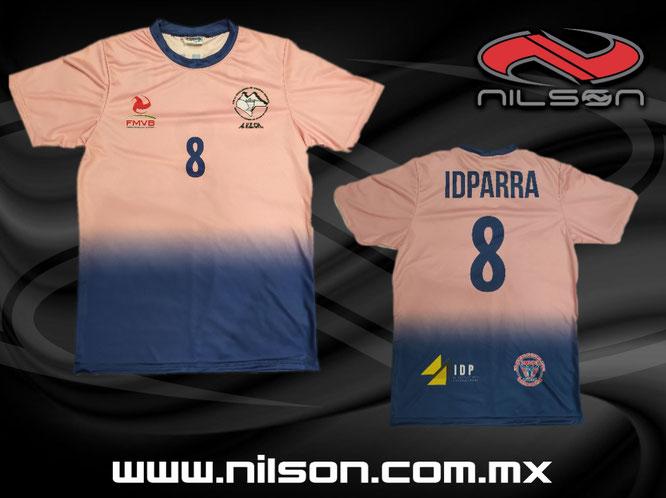 Voleibol sublimacion digital Nilson ropa deportiva
