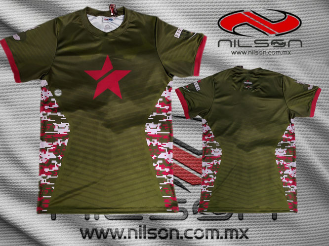 PLAYERA SUBLIMADA NILSON, gym army