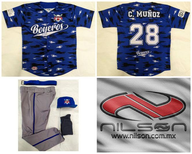 uniforme beisbol nilson sublimacion fullprint boyeros