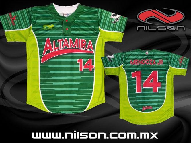 jersey beisbol sublimacion ALTAMIRA NILSON ROPA DEPORTIVA