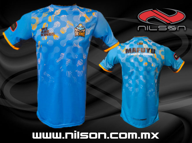 jersey esports The kings nilson ropa deportiva