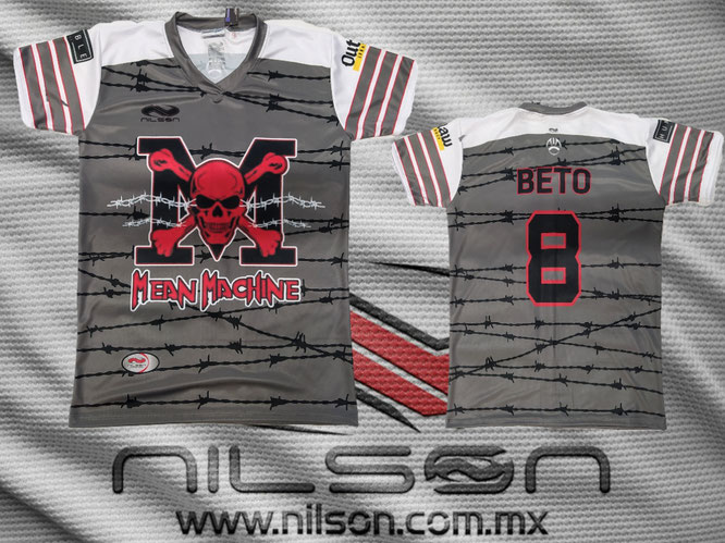 jersey Tochito, mean machine sublimación Nilson ropa deportiva