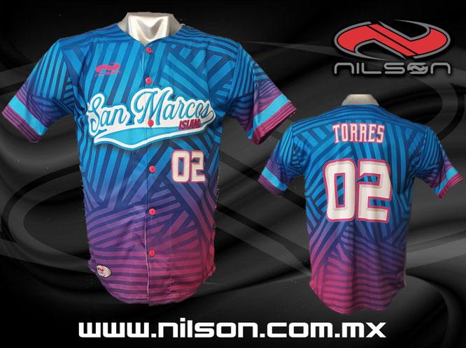 jersey de beisbol sublimacion digital, nilson ropa deportiva, MOD ISLAND