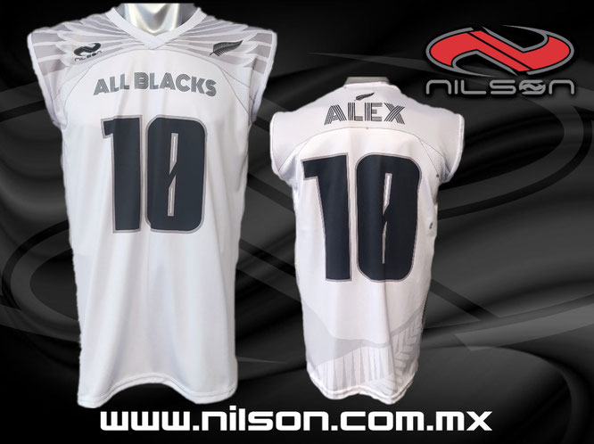jersey sublimacion tochito all blacks  nilson ropa deportiva
