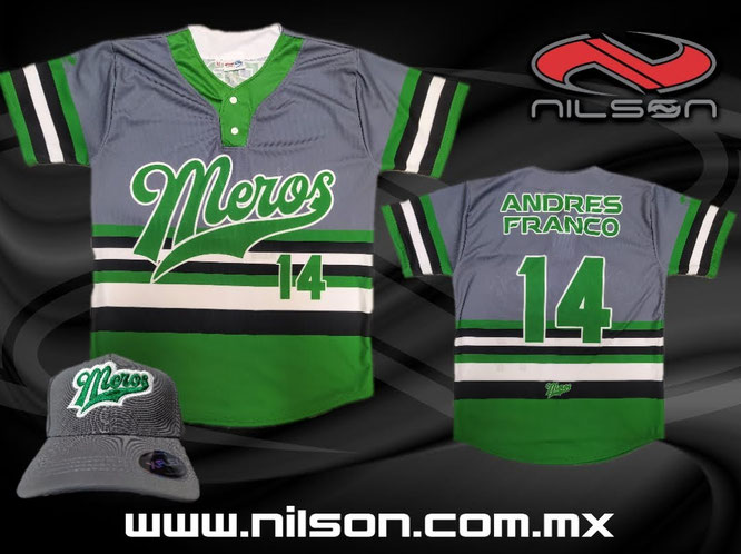 jersey beisbol sublimacion MEROS  NILSON ROPA DEPORTIVA