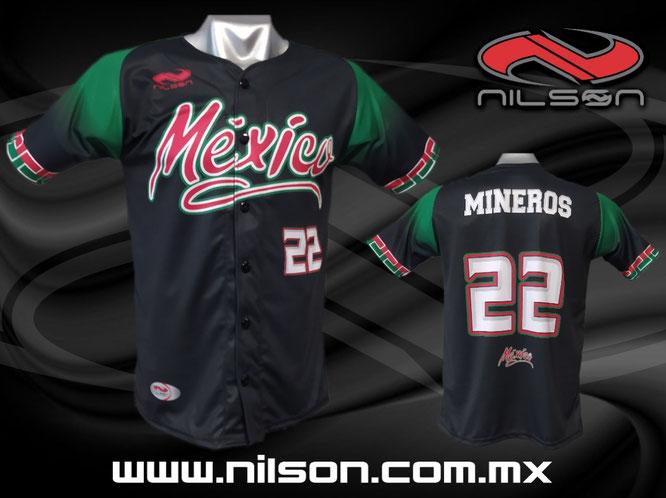 jersey tipo mexico sublimacion digital nilson ropa deportiva