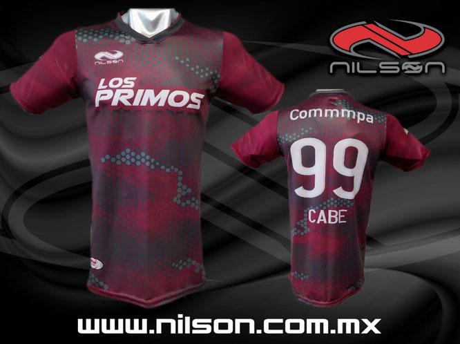 playera futbol soccer sublimacion digital, nilson ropa deportiva
