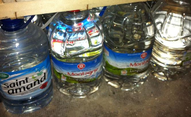 Prepper Wasser Lager