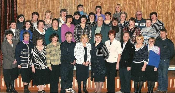 Педагогический коллектив школы 2009 - 2010 уч. год