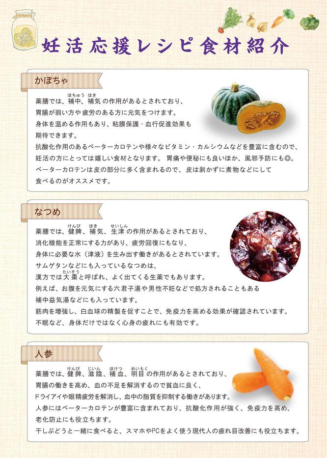 カボチャのサラダ 食材紹介
