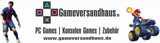 Onlineshop für Spiele und Zubehör