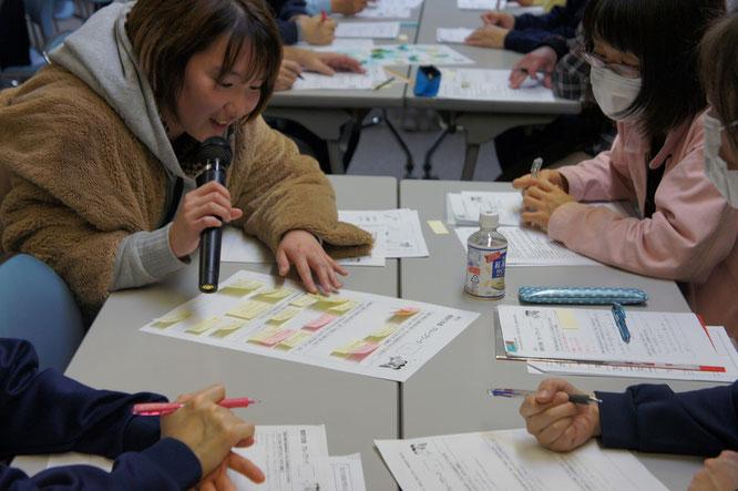看取り研修の最後は、グループワークで集約した意見の発表タイム。それぞれの看取りに対する想いが伝わってきました
