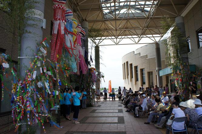 仙台の七夕飾りの下で、地域の新たな歴史が始まりました