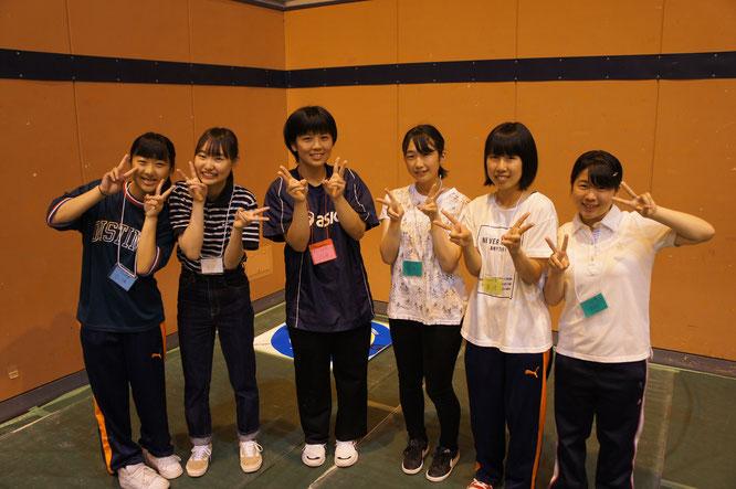 毎年お世話にっている高田北城高校の皆さん。今年も当ブースを盛り上げていただきありがとうございました!