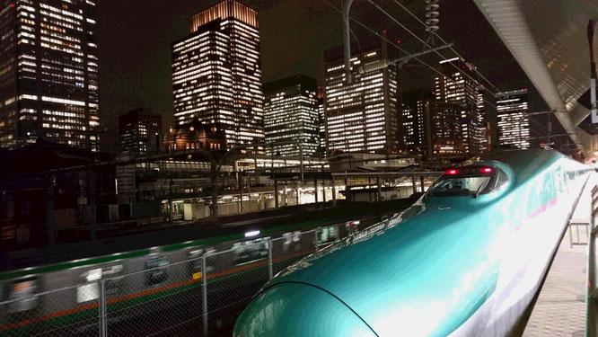 とても寒かった今日の東京。その反面、夜景もきれいでした