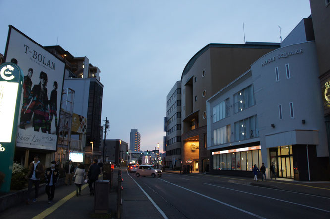 18:30 高田本町に帰還。T-BOLANが高田にやって来るのか。学生時代が懐かしいなぁ
