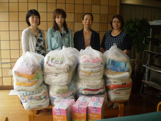 高田法人会女性部会の皆さん、いつもありがとうございます!