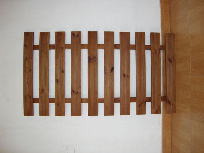 Celosia ancha de pared ( perfil de 95x21 )