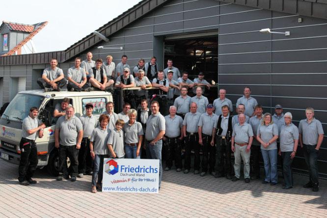 Das Friedrichs Team im Jahr 2012