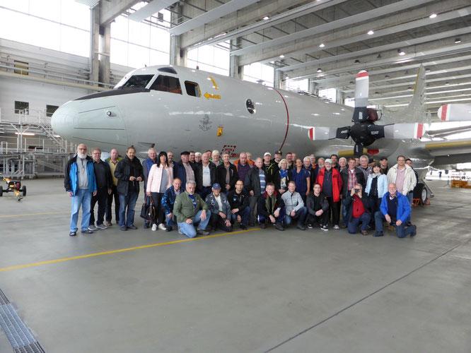 "Besuch beim Marineflieger-Geschwader 3 ""Graf Zeppelin"" in Nordholz"