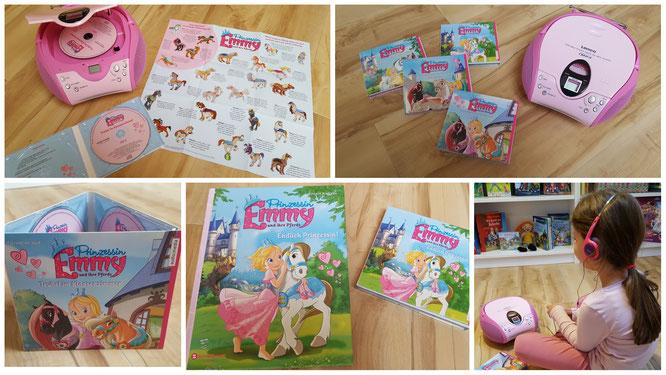 """Unsere Kleine hört die Hörbücher von """"Prinzessin Emmy"""""""