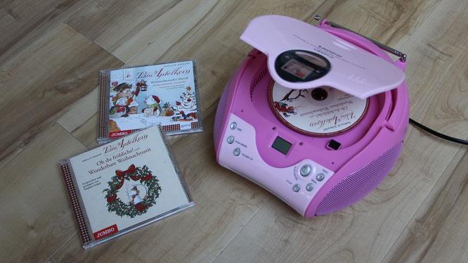 Weihnachtszauber mit den Hörbüchern von Tilda Apfelkern