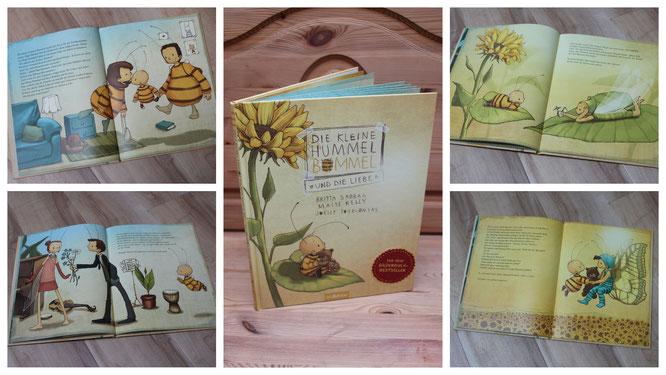 """Ein traumhaft schönes Buch über die Liebe: """"Die Hummel Bommel und die Liebe"""""""
