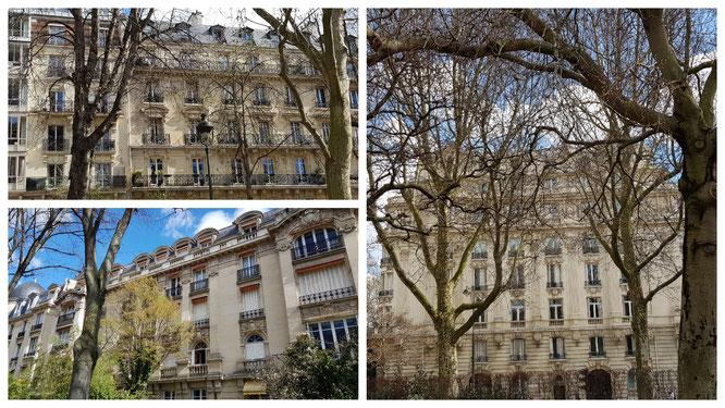 Typische Pariser Häuser