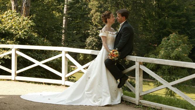 Wir als Hochzeitspaar