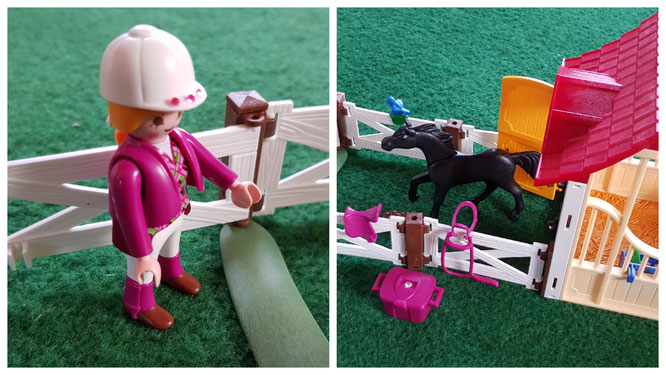 Playmobil Stallbox für den Reiterhof unserer Kleinen