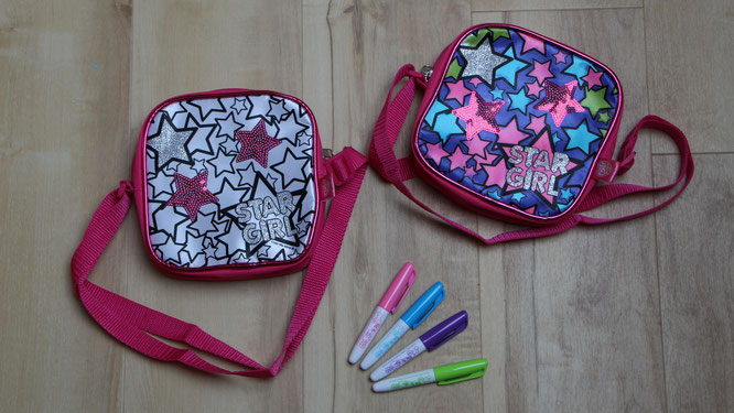 Handtaschen von Color me mine zum selber bemalen