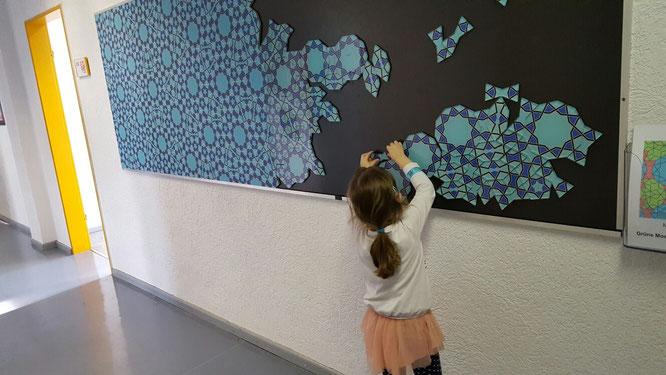 EXPERIMINTA - Unsere Kleine im Bereich Puzzle und Parkettierung