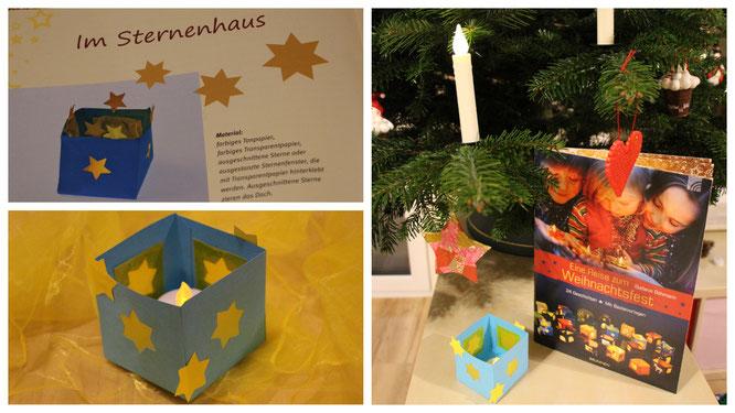 """Mit dem Buch """"Eine Reise zum Weihnachtsfest"""" baut ihr eure Lichterstadt"""