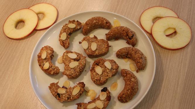 Apfel-Zimt-Plätzchen aus der N'oats-Sorte Bratapfel von mymuesli