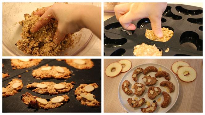 Wir backen Apfel-Zimt-Plätzchen mit N'oats von mymuesli