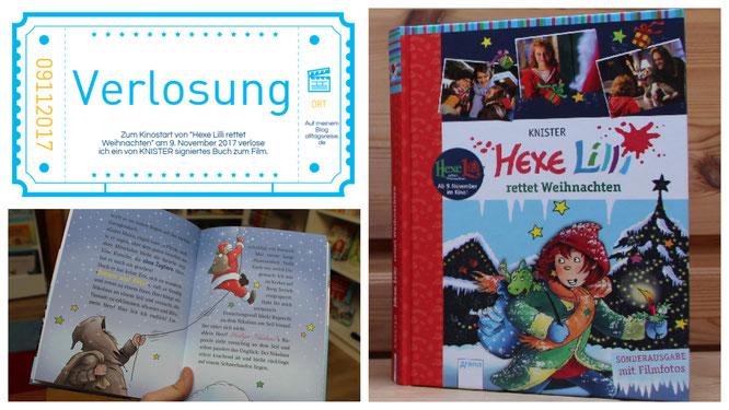 """Verlosung des Buches """"Hexe Lilli rettet Weihnachten"""""""