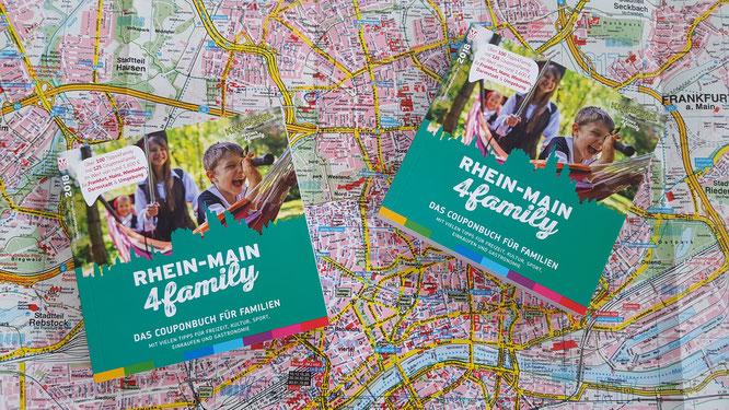 """Mit den Couponbüchern """"RheinMain4Family"""" das RheinMain-Gebiet entdecken"""