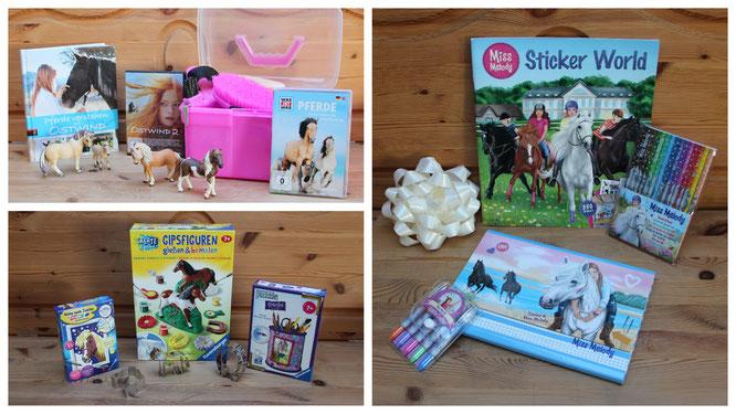 Geschenke rund ums Pferd zum Geburtstag für unsere Achtjährige