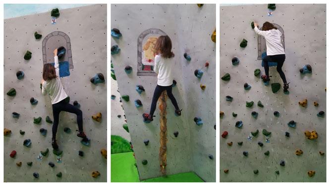 Unsere Große in der Boulderwelt Frankfurt (am Main)