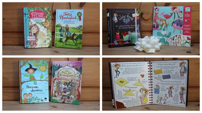 Bücher als Geburtstagsgeschenke für unsere Achtjährige